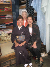 大阪(尼崎) 100 year old Kimono shop with guide